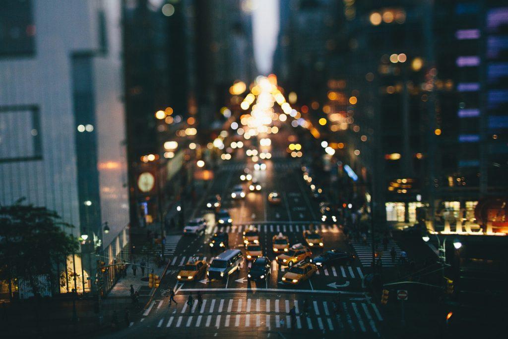 NYC's shinning at night <3
